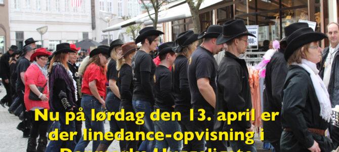 Tønder: Linedance-opvisning på gågaden nu på lørdag