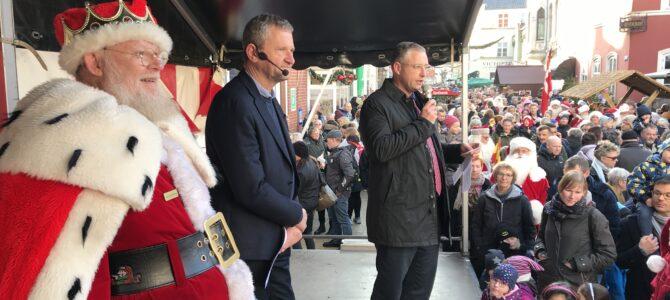 Julebyen Tønder: Fantastisk åbning med masser af juleglade mennesker