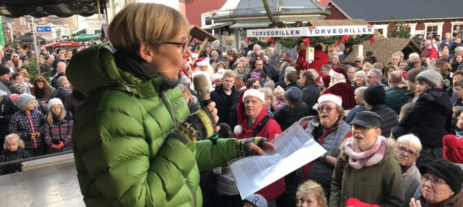 Erik Tygesen skabte Julebyen Tønder