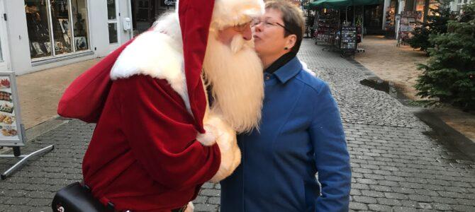 Julebyen Tønder: Alle er glade for julemanden