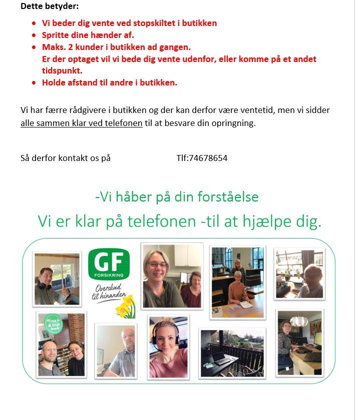 GF Tønder er på banen igen på kontoret