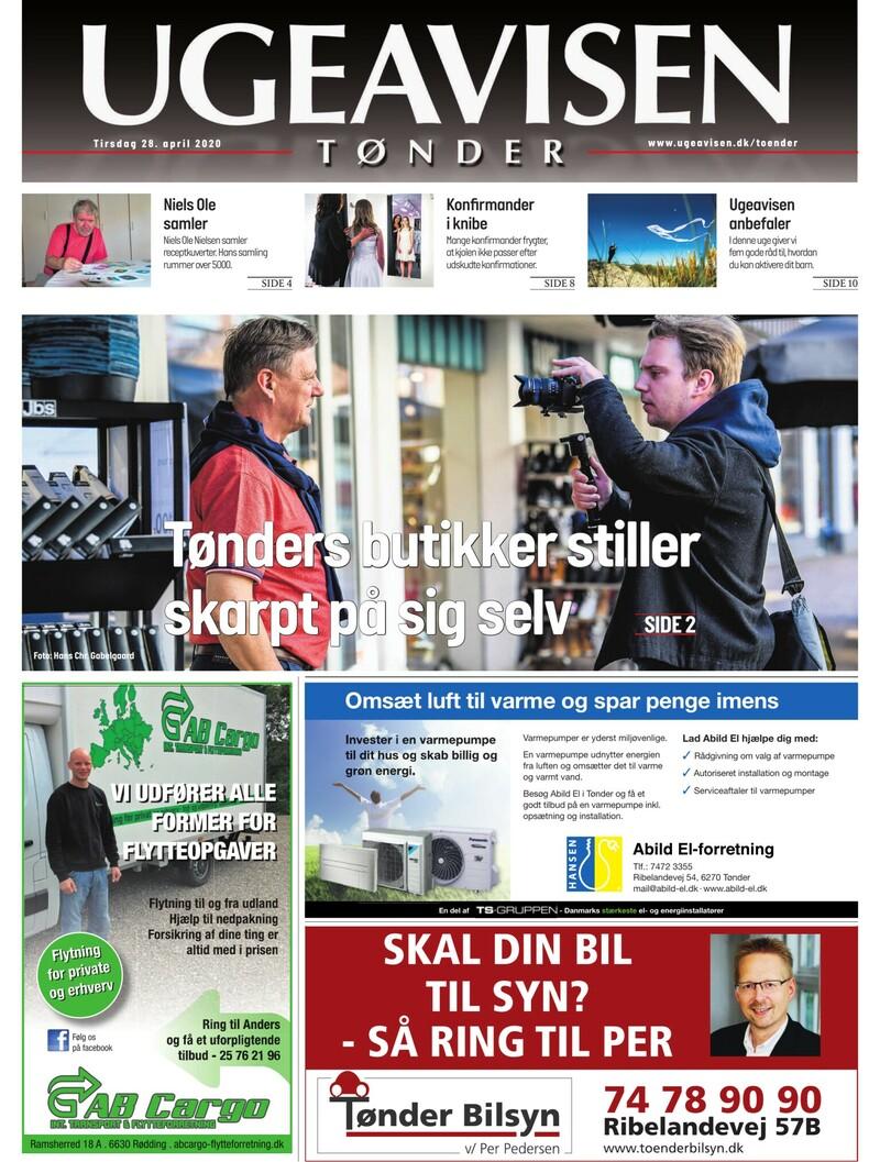 Ugeavisen Tønder – Byens butikker på video