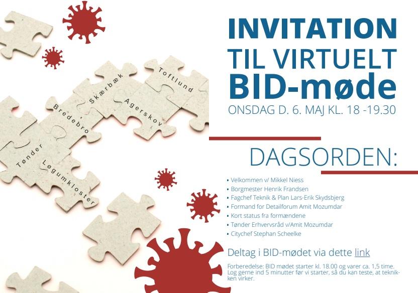 BID-Møde for hele Tønder Kommune