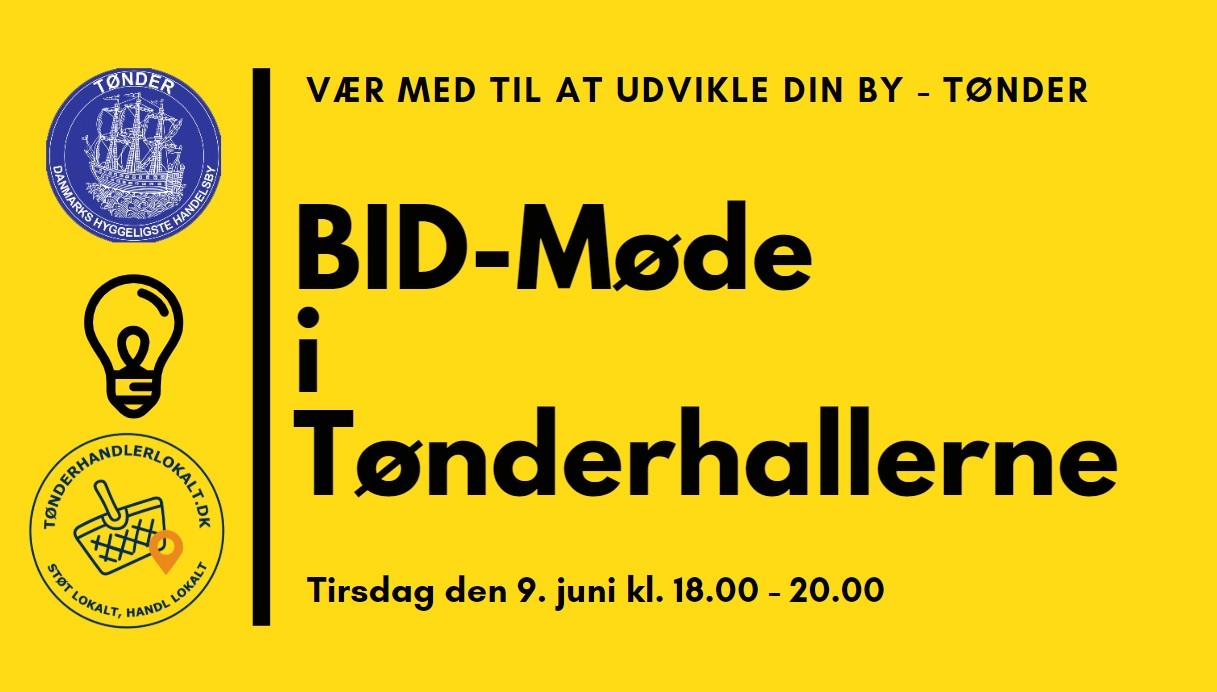 BID-Møde i Tønder – 9. juni kl. 18.00