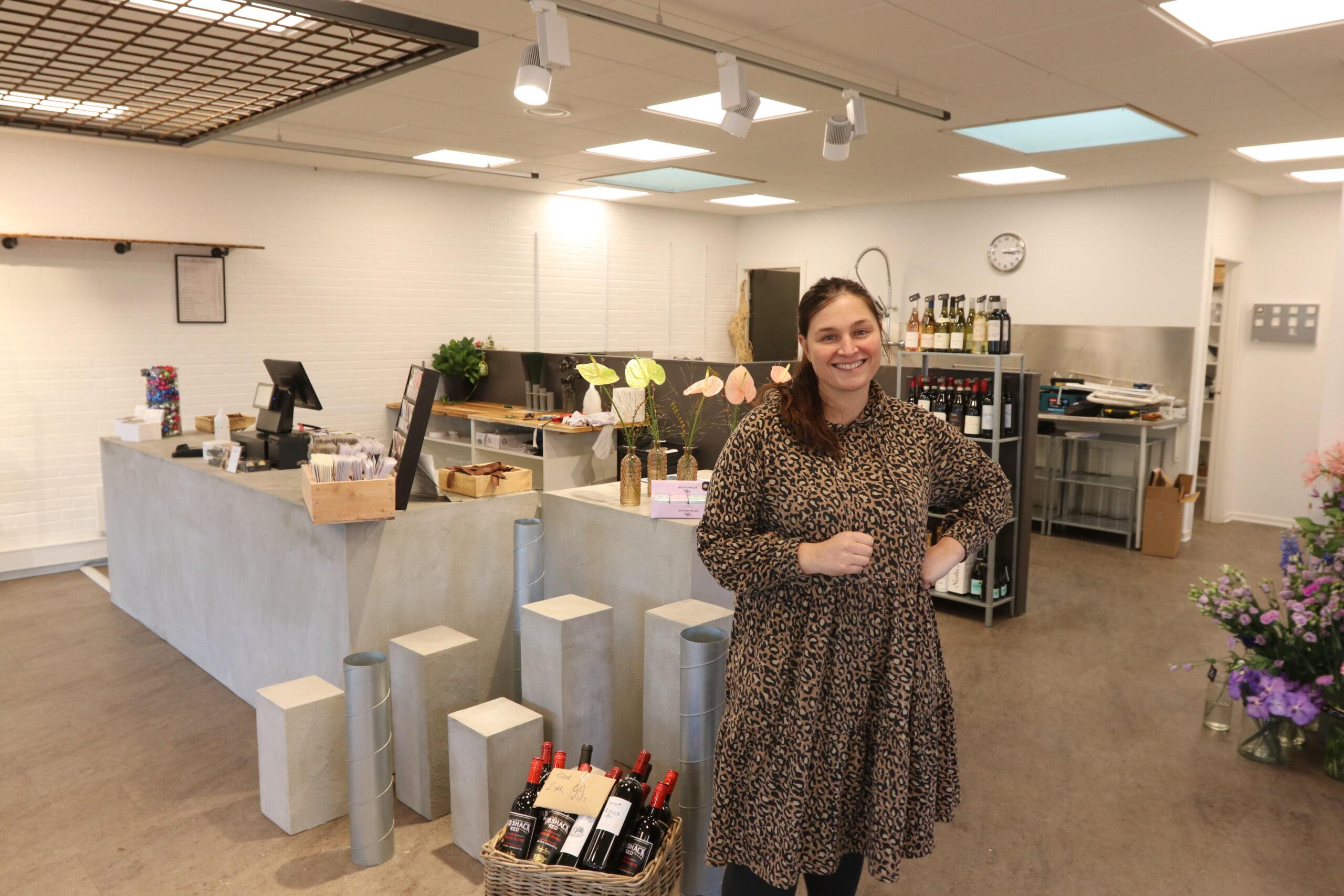 Pernilles Blomster åbnede filial på Plantagevej