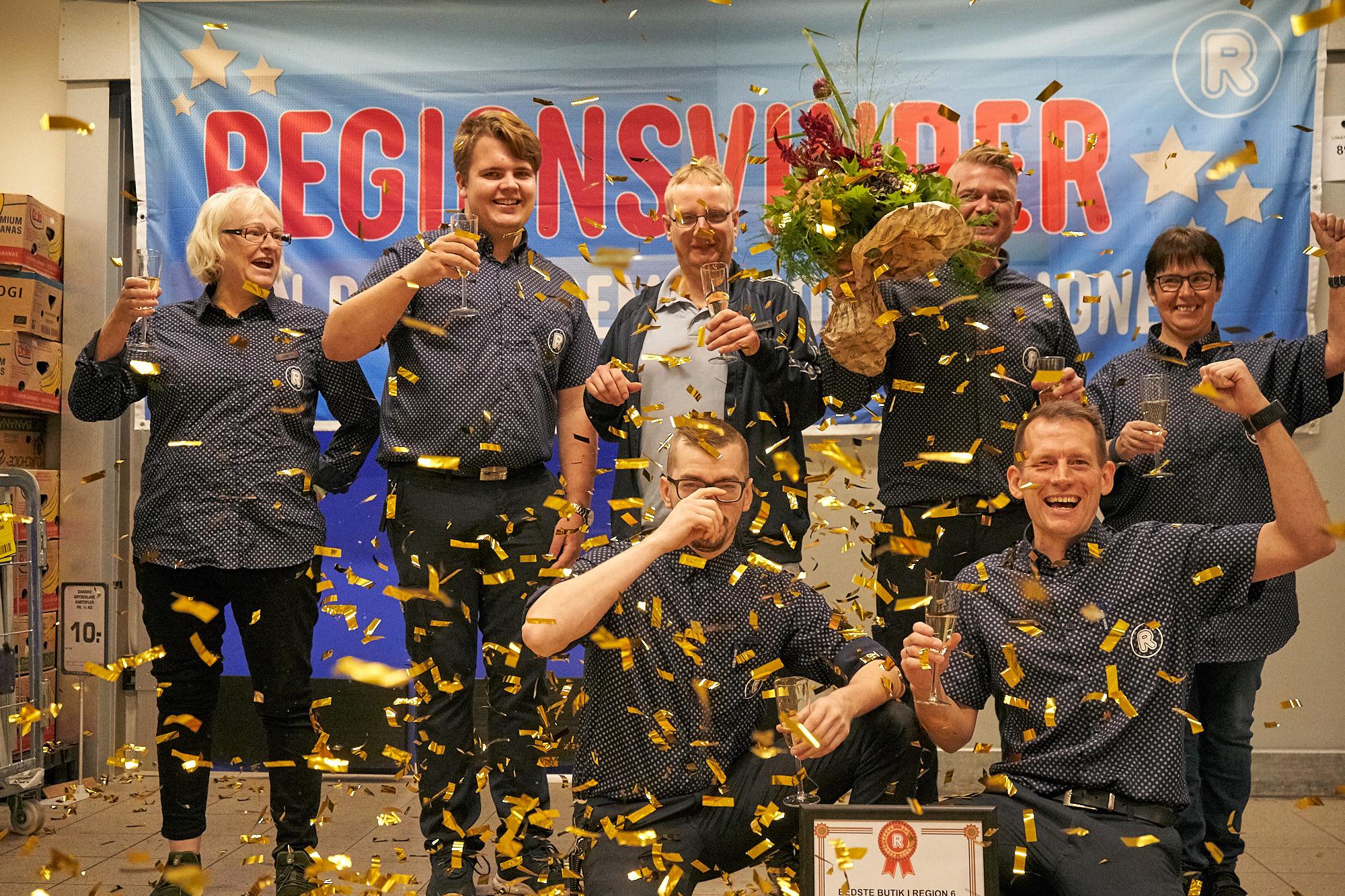 REMA 1000 i Tønder er regionens bedste butik