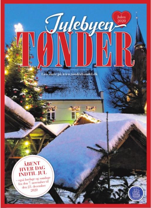 Julebyen Tønder 2020 – læs juleavisen og se programmet her