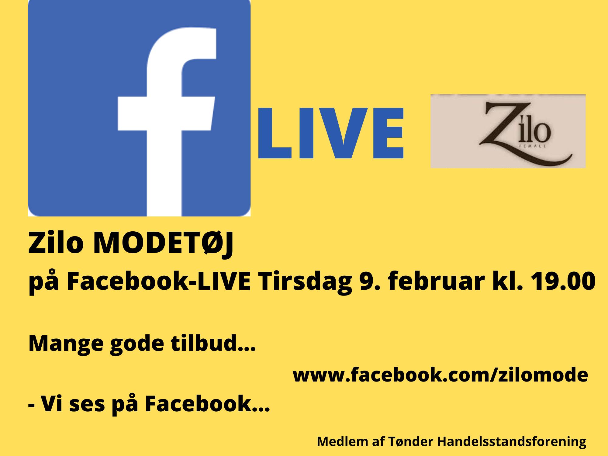 Butikkerne er på Facebook