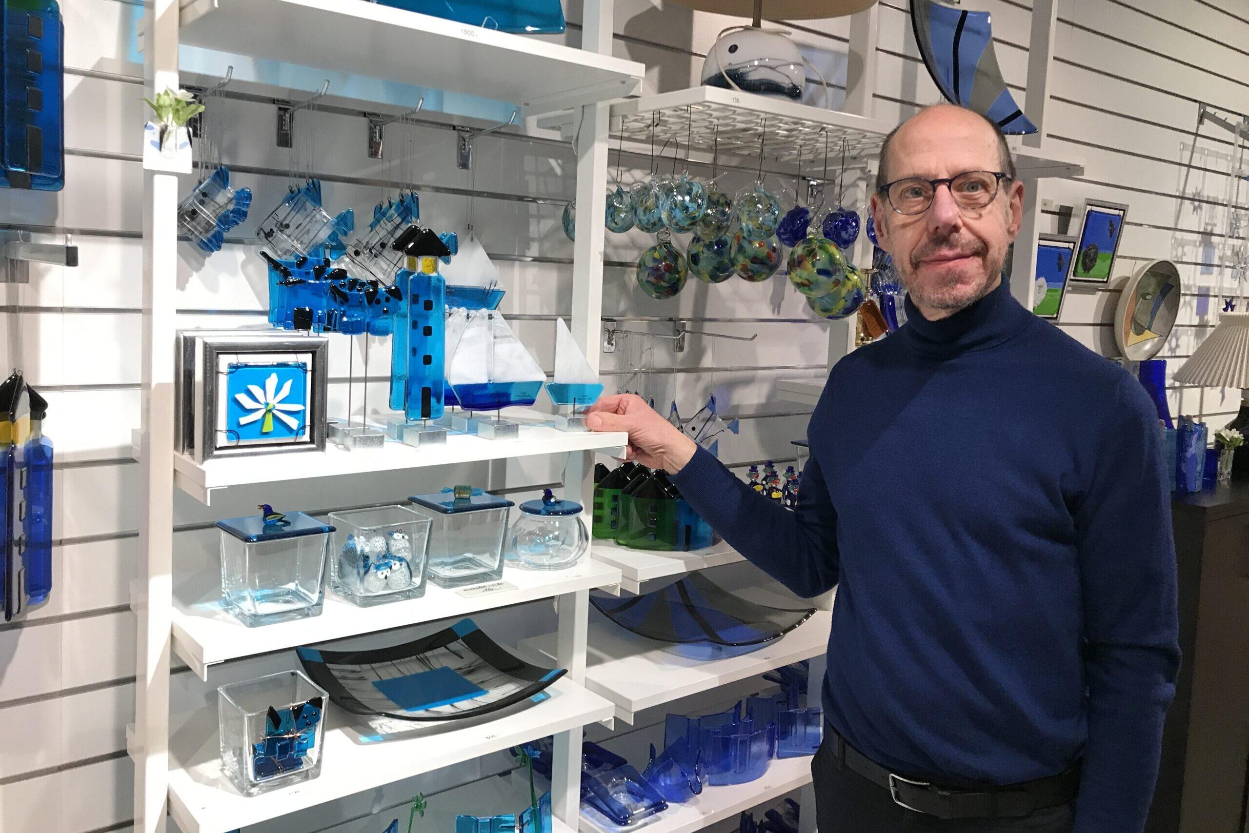 Glaskunsten åbner: – Ny adresse og ny indehaver