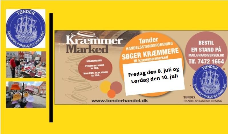 Kræmmere efterlyses til Gammeldags Gågademarked 9. og 10. juli