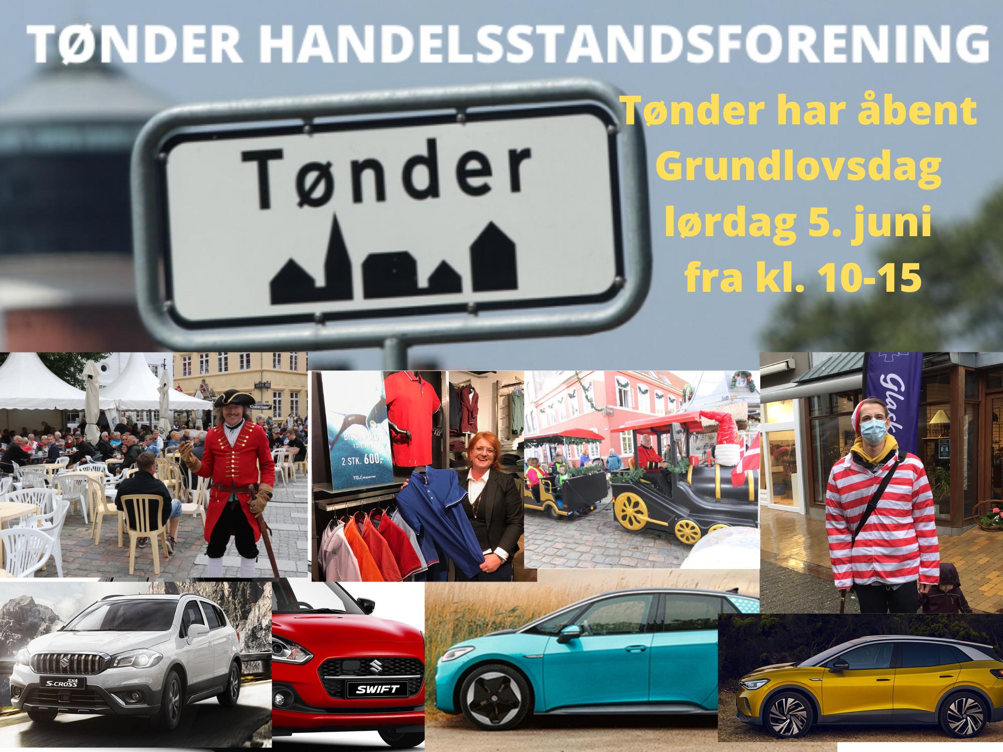 5. juni – Tag til Tønder på Grundlovsdagen – mindst 10.000 gode grunde til en shoppingtur