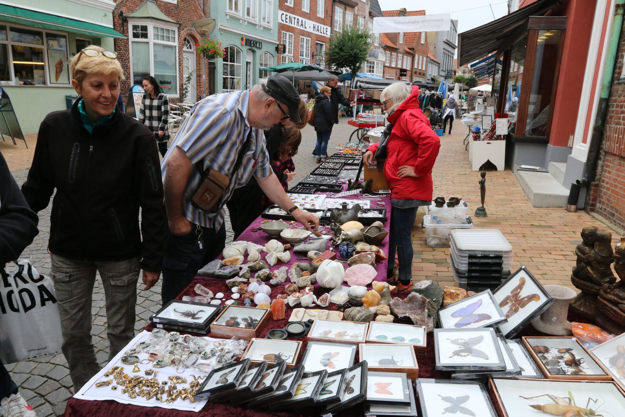 Gammeldags Gågademarked i Tønder – nu på fredag den 9. juli samt lørdag den 10. juli