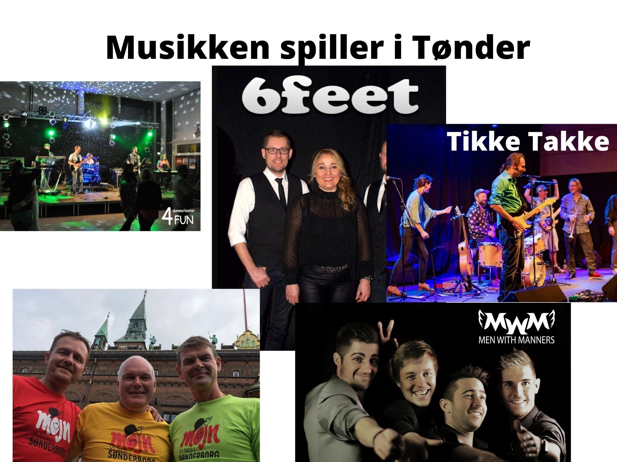 Tønder fester – med Tønder Festival og Sønderjysk Kagefestival