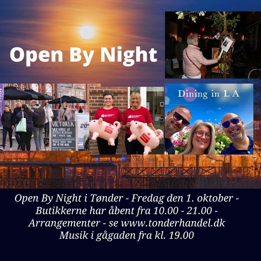 Open By Night i Tønder – fredag den 1. oktober – 10.00 – 21.00